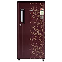 Whirlpool 185 L 3 Star Direct Cool Single Door Refrigerator(200 IMPC CLS PLUS 3S WINE DIOR-E, Wine Dior)