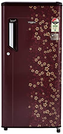 Whirlpool 185 L 3 Star Direct Cool Single Door Refrigerator(200 IMPC CLS PLUS 3S WINE DIOR-E, Wine Dior)