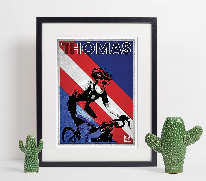 A4 Art Print Cycling Gift Geraint Thomas