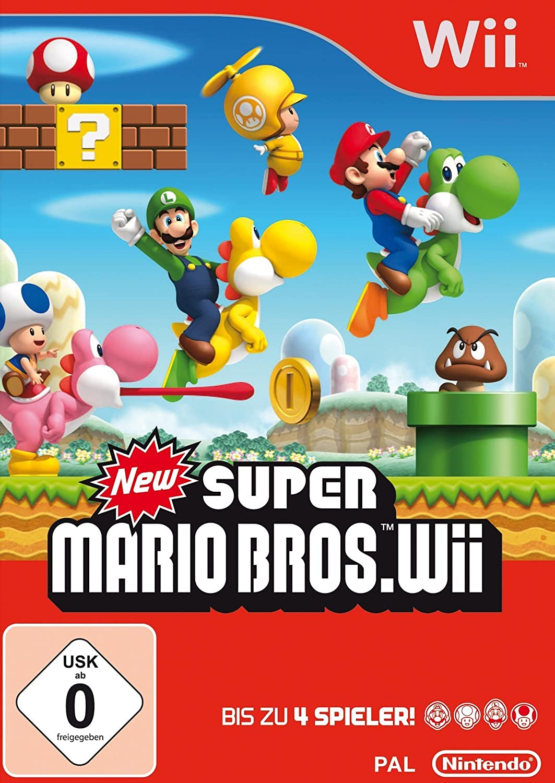 New Super Mario Bros. Wii [Importación alemana]: Amazon.es: Videojuegos