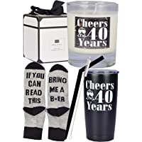 40th Birthday Gifts for Men, 40th Birthday, 40th Birthday Tumbler, 40th Birthday Decorations for Men, 40th Birthday Cup…