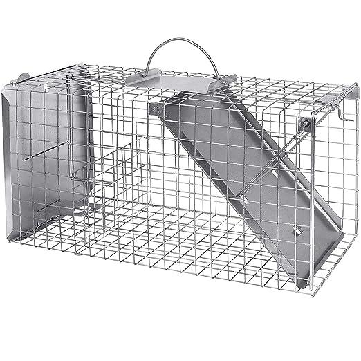 Grandes Gato Trampa con Lock Medio 80 cm I rápida, fácil, fiable I ...
