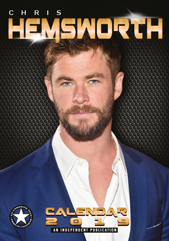 Chris Hemsworth Calendar - Calendars 2018 - 2019 Wall Calendars - Movie Wall Calendar - Sexy Men Calendar - Poster Calendar - 12 Month Calendar by Dream