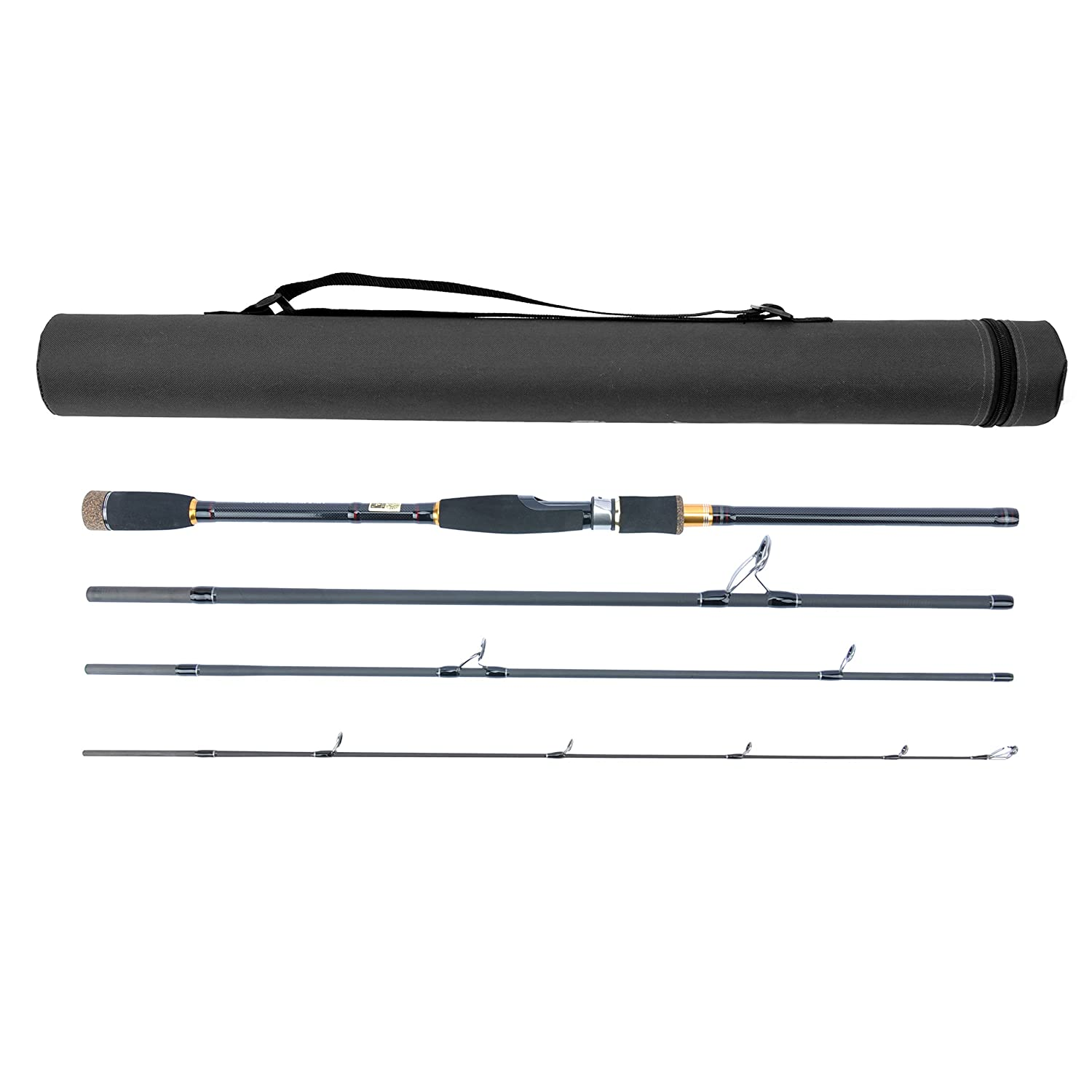 JEKOSEN Portable Spinning ​Fishing Rod