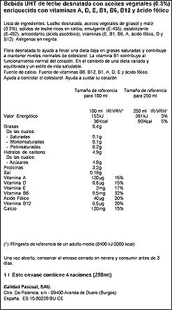 Flora Folic B Desnatada - 1 L (Pack de 4): Amazon.es: Alimentación y bebidas
