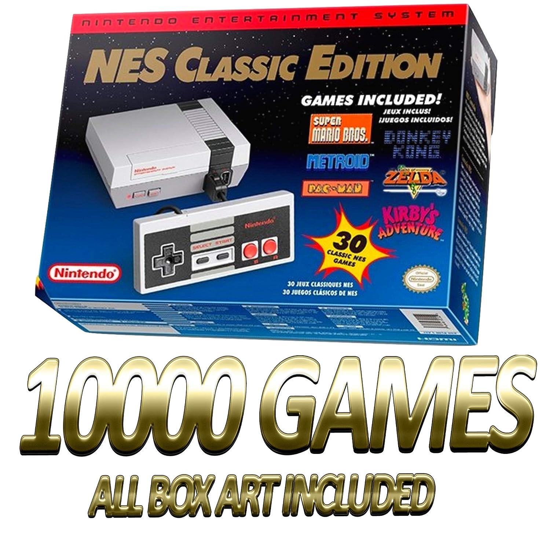 Amazon Com Nes Classic Entertainment System 10000 Games Mod Hack