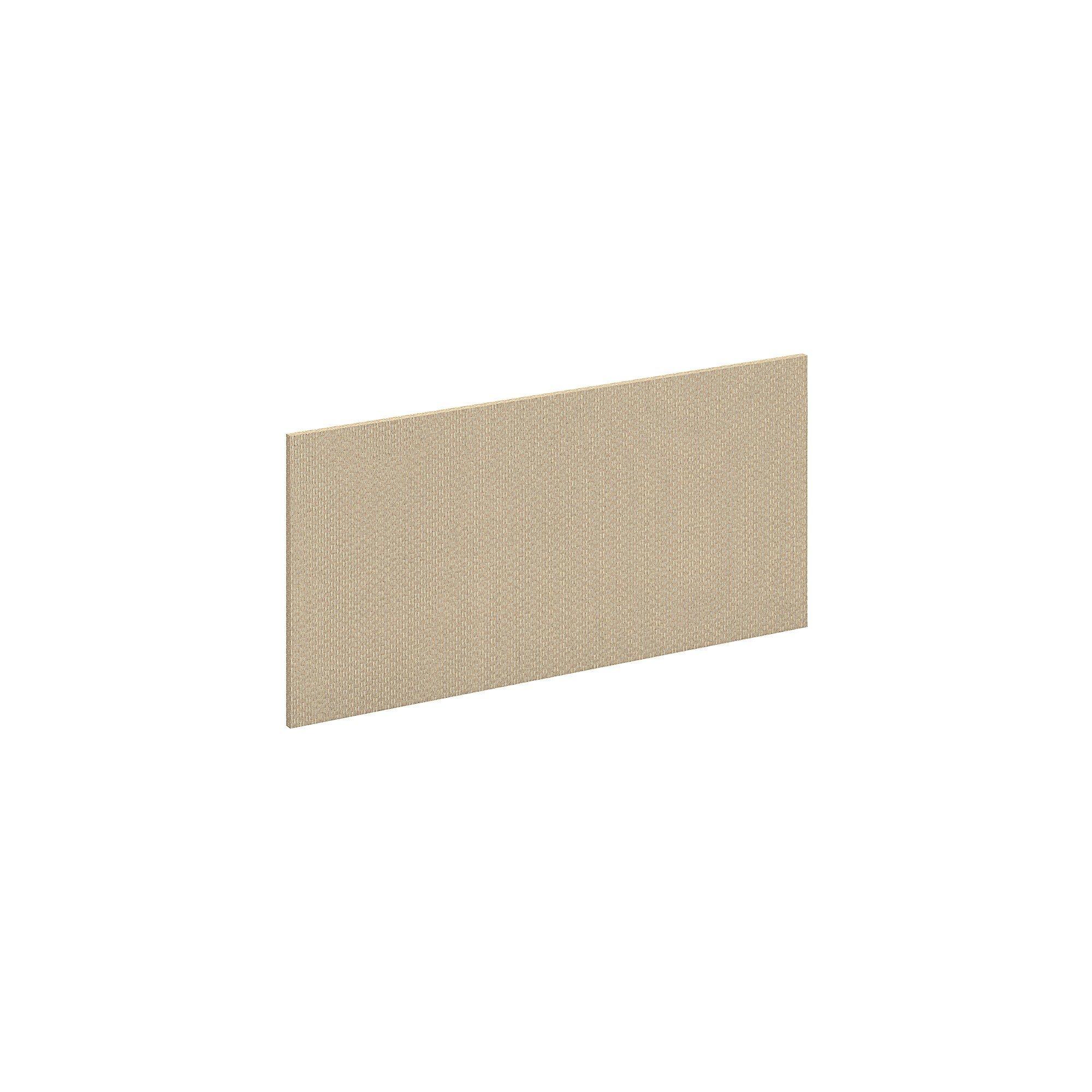 Bush Business Furniture Series C Elite 36W Tackboard in Lyric Sundew Fabric