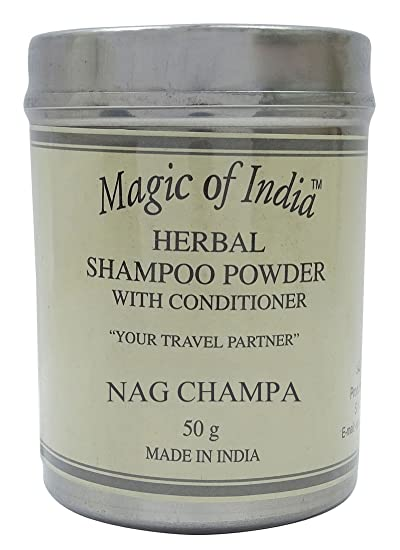 Magic Of India Herbal Fragrance Shampoo Powder With Conditioner - Choose  Fragrances