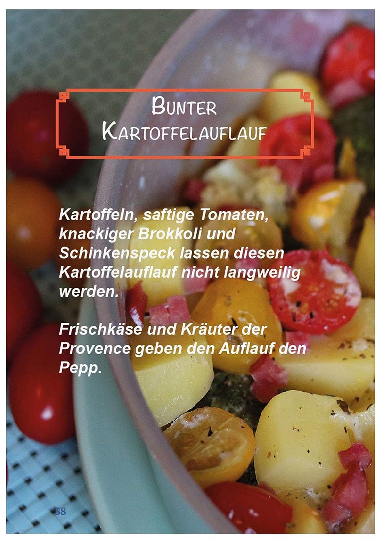 One-Pot Aufl/äufe /& Gratins Kochbuch Backofen OMNIA-KITCHEN Omnia Backofen 4-teiliges Spar-Set Aufbackgitter Silikon-Backform 2.0