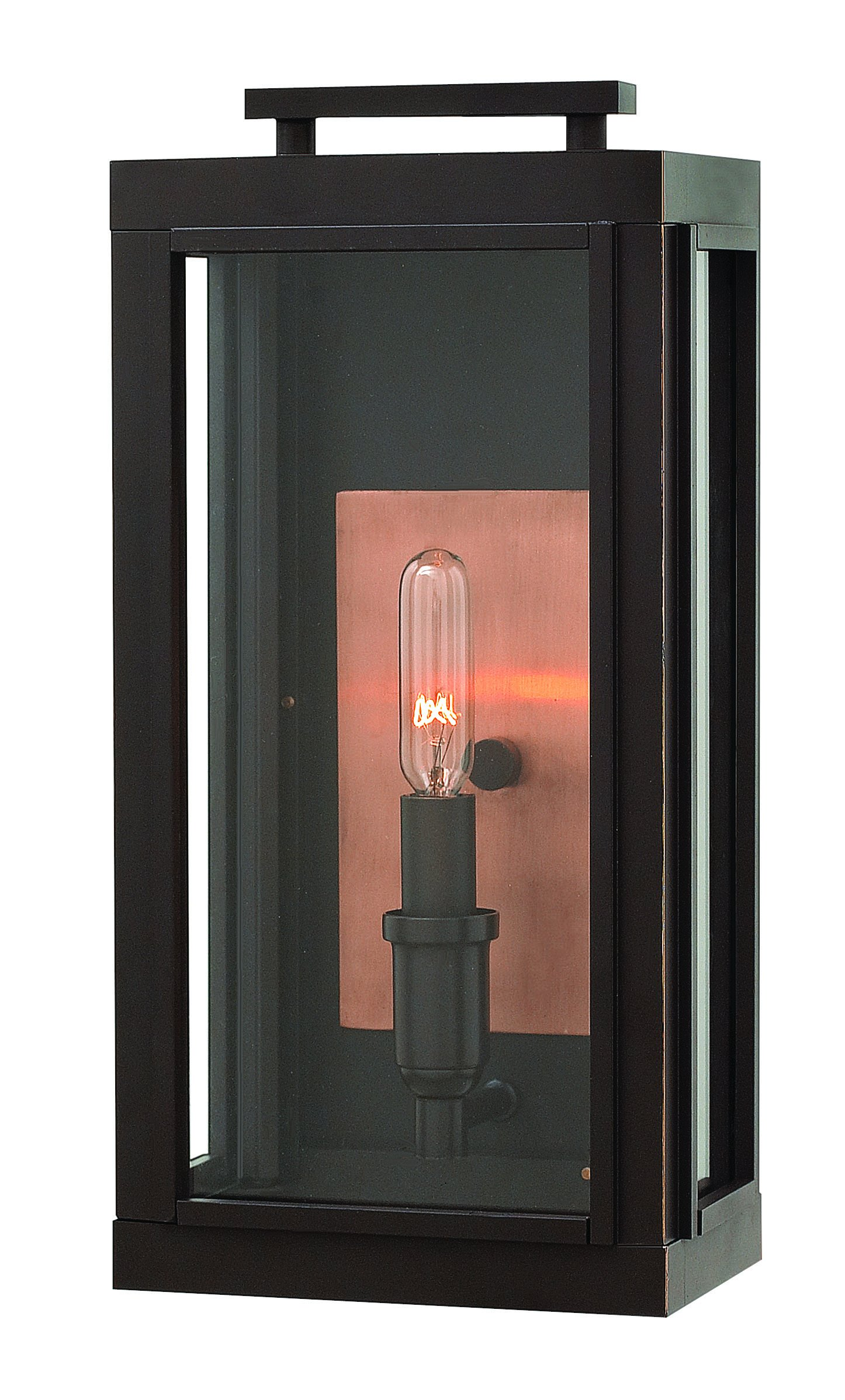 Hinkley 2910OZ Transitional One Light Wall Mount from Sutcliffe collection in Bronze/Darkfinish,