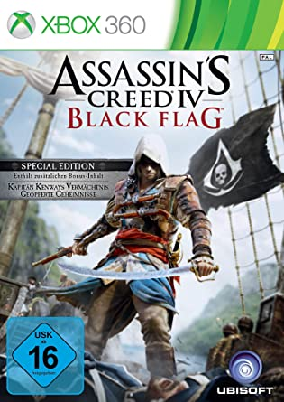 Assassin's Creed 4: Black Flag - Special Edition [Importación Alemana]