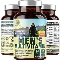 N1N Daily Multivitamin for Men, Premium Multimineral Supplement - Vitamins A C E...