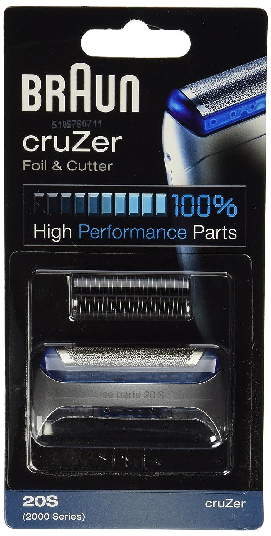 Braun Cruzer series razor screen foil and cutter blade.