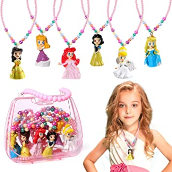PRINCESS  AURORA SLEEPING BEAUTY STRONG CHAIN 16 inch  GIFT BOXED BIRTHDAY PARTY