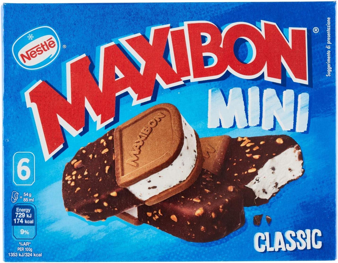 Nestlé - Maxibon Cono Gold Nata Caramelo, 440 ml