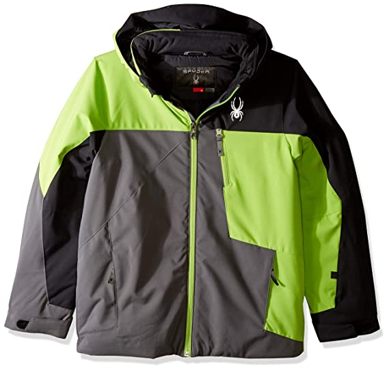 348b25604 Spyder Boys' Ambush Ski Jacket