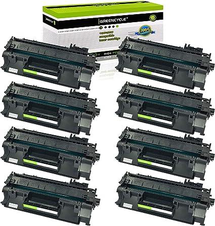 8PK CE505A 05A Black Toner Cartridge Compatible for HP LaserJet P2035n P2055dn