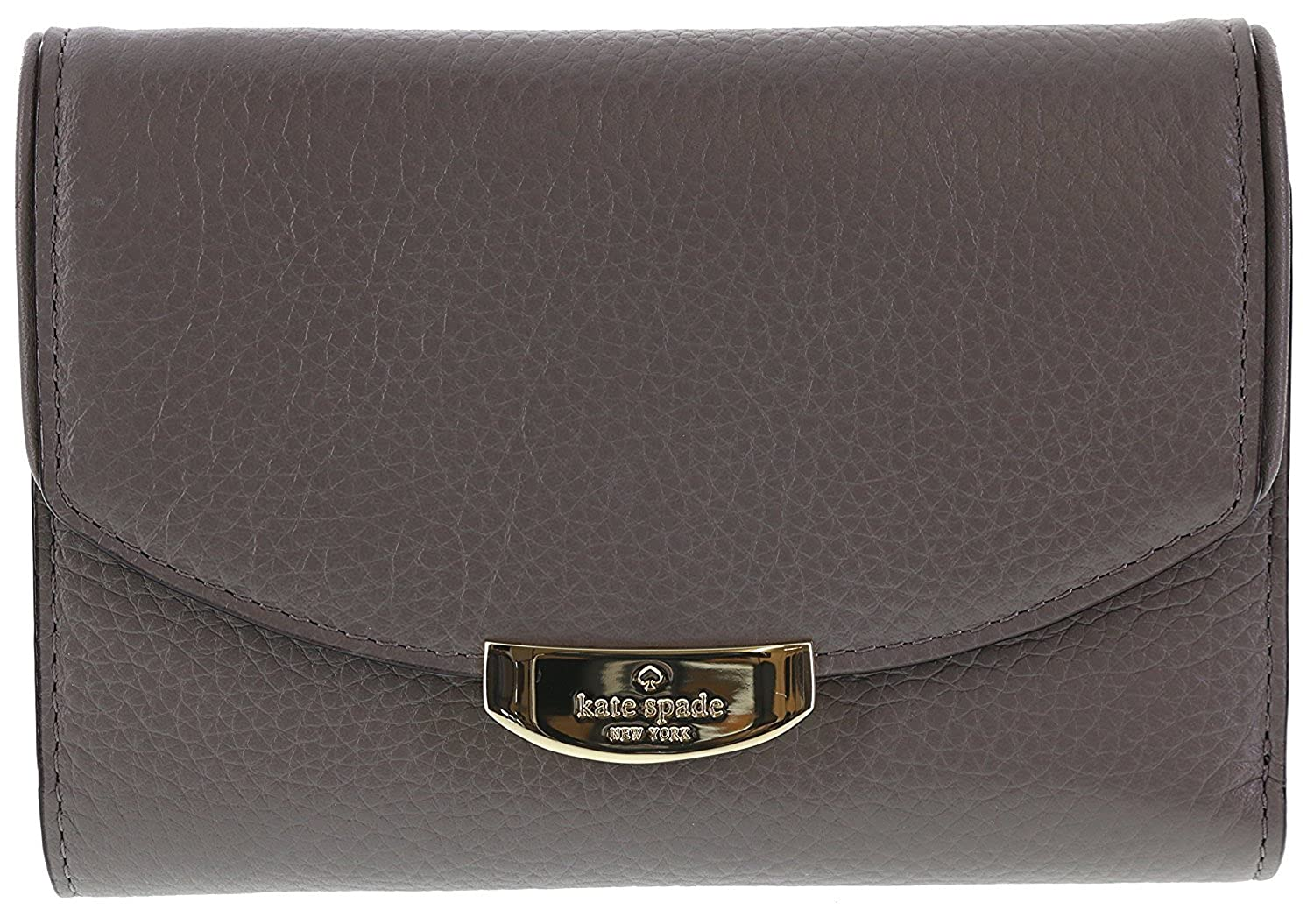 Kate Spade New York Mulberry Street Callie Pebbled Leather Wallet WLRU2605