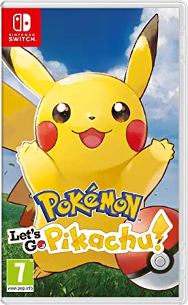 Pokemon Lets GO Pikachu! - Nintendo Switch [Importación italiana ...