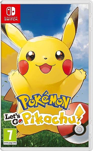 Pokemon Lets GO Pikachu! - Nintendo Switch [Importación italiana ...