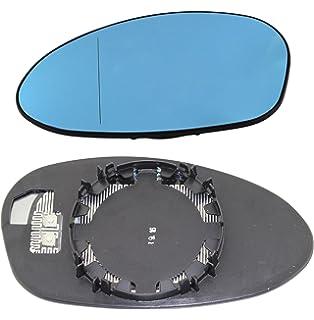 TarosTrade 57-0317-L-50633 Cristal De Retrovisor Calefactable Azul Lado Izquierda