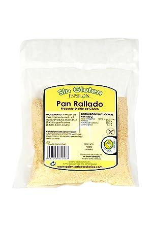 Espsilon - Pan Rollado - Sin Gluten - 200 g: Amazon.es ...
