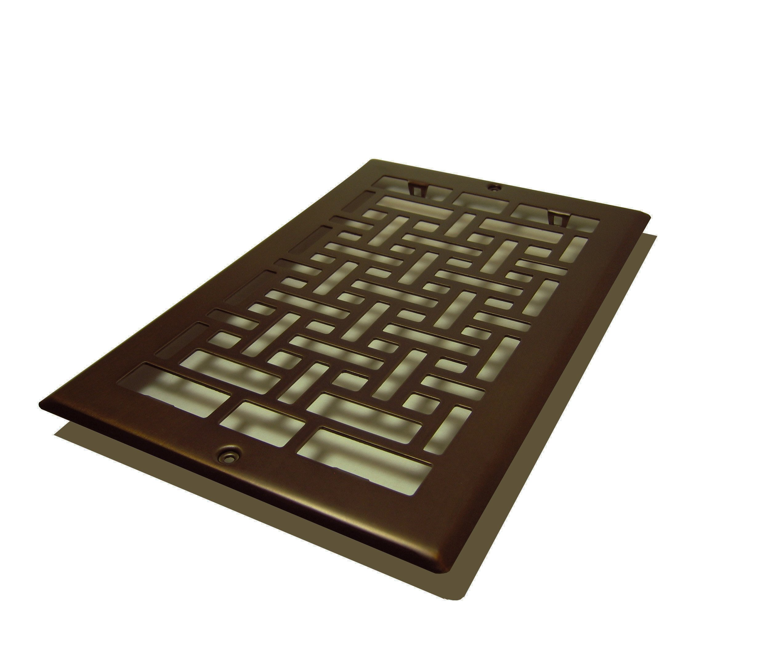 Decor Grates AJL610R-RB Oriental Return, 6-Inch by 10-Inch, Rubbed Bronze by Decor Grates