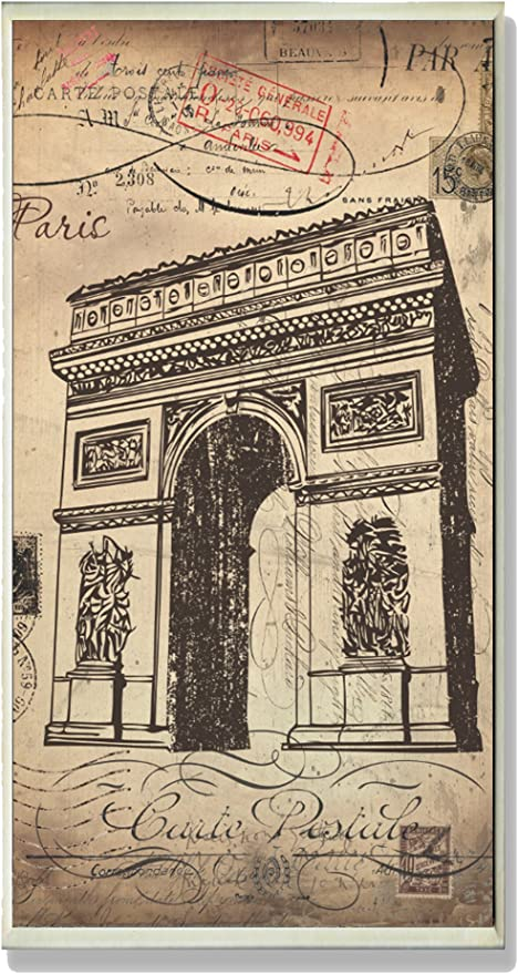 The Stupell Home Decor Collection Paris A Vintage Wall Plaque