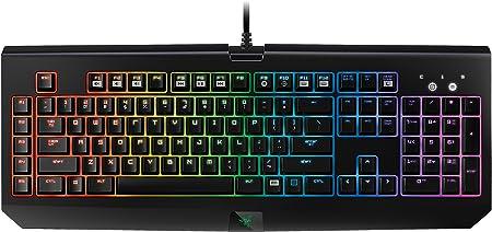 Razer BlackWidow Chroma - Teclado mecánico Gaming (retroiluminación RGB, programable, con 5 Teclas Macro) - QWERTY inglés