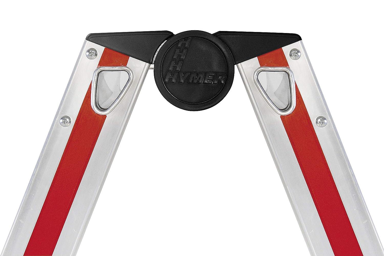 aluminio, 6 pelda/ños Hymer 402406 SC 40 Escalera de mano
