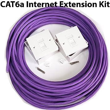 50 m CAT. 6 a Router: Amazon.de: Elektronik