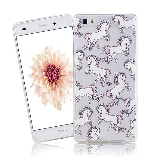 24 opinioni per Cover Huawei P8 Lite, CaseLover Huawei P8 Lite Cover Custodia Trasparente Rigida