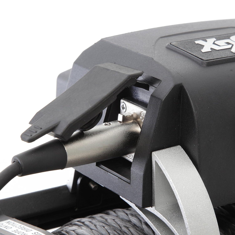 SMITTYBILT 97510 X20 Gen2 Winch 10000 lb Waterproof Steel Rope 6.6 hp Black