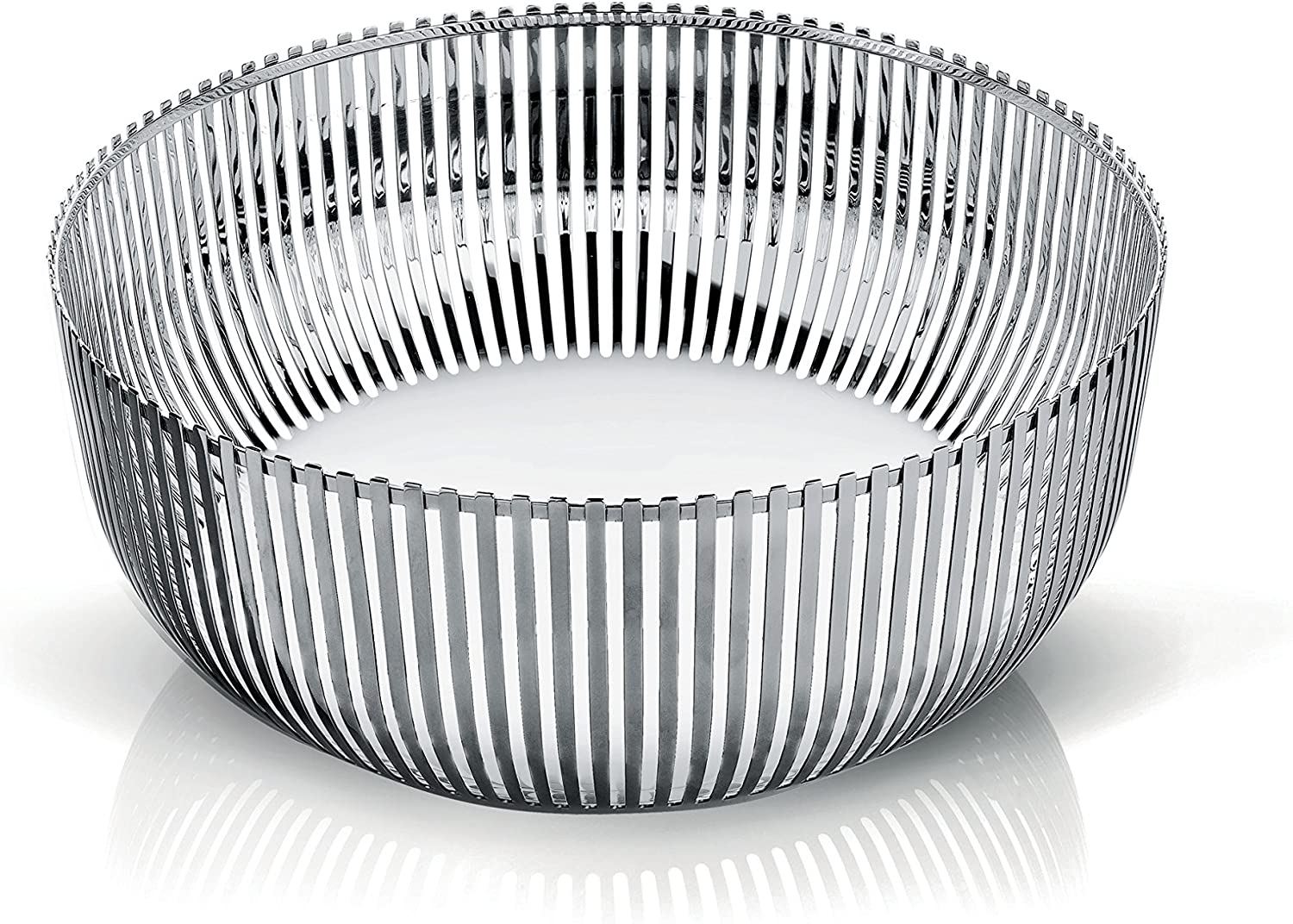 Alessi Fruit Bowl in 18/10 Stainless Steel Mirror Polished, Silver