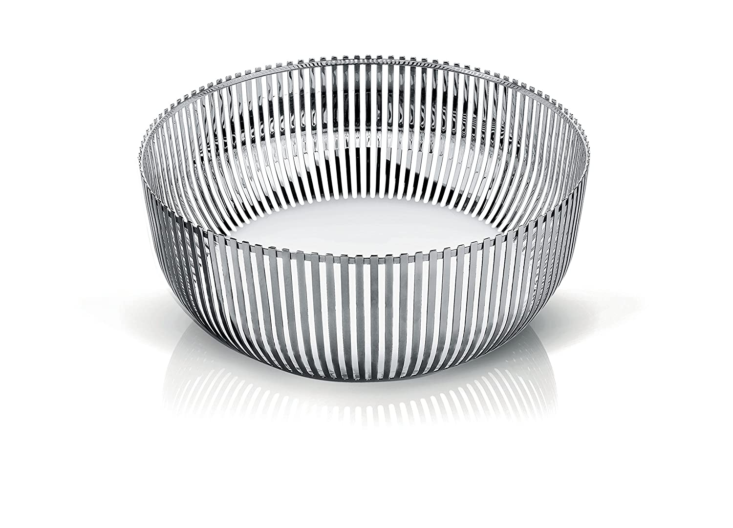Alessi Fruit Bowl in 18/10 Stainless Steel Mirror Polished, Silver PCH05/30