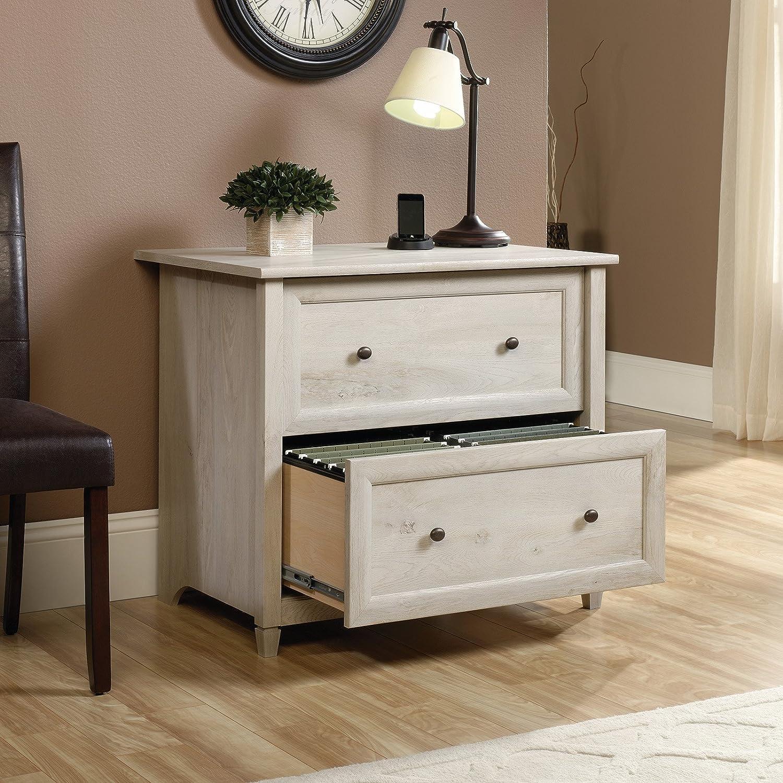 Amazon.com: Sauder Edge Water 2 Drawer File Cabinet In Auburn Cherry: Home  U0026 Kitchen