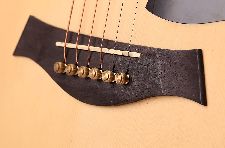 Guitarra acústica cuerdas Clavijas de clavijas de puente para ...