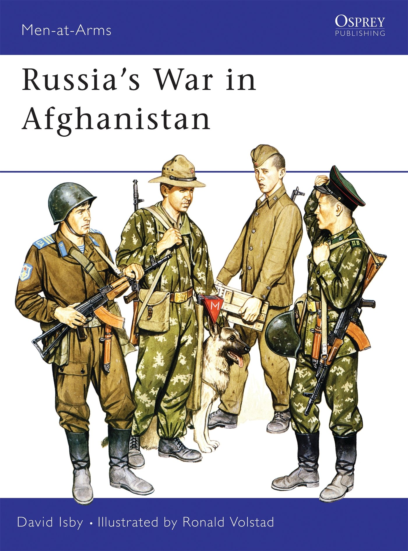 Russia's War In Afghanistan  Men At Arms Band 178