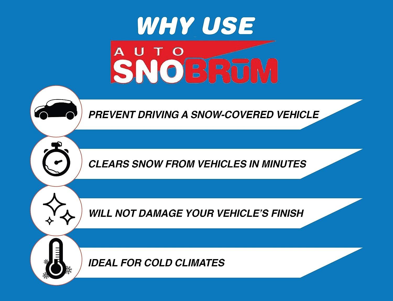 2pk SnoBrum Automobile Snow Broom Remover 17 in Head 46 in Telescoping Handle Pools , Hot Tubs /& Supplies