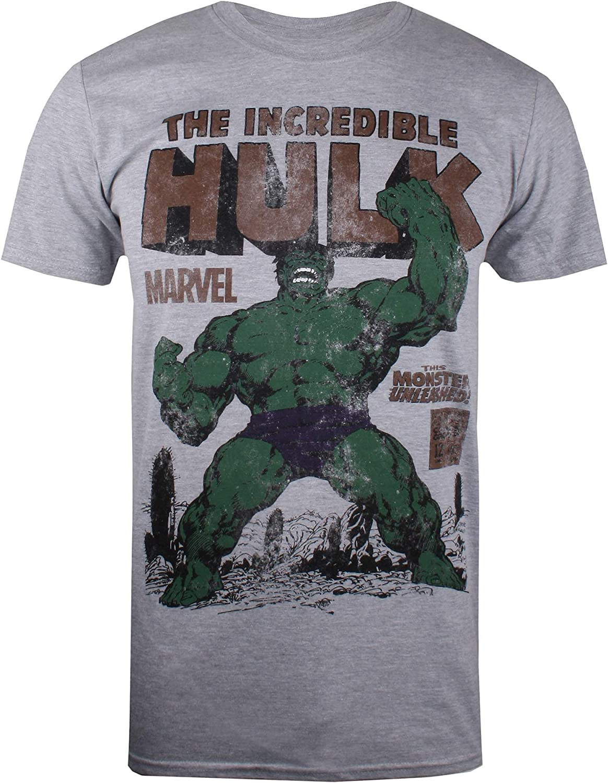 Marvel Hulk Rage T-Shirt Homme