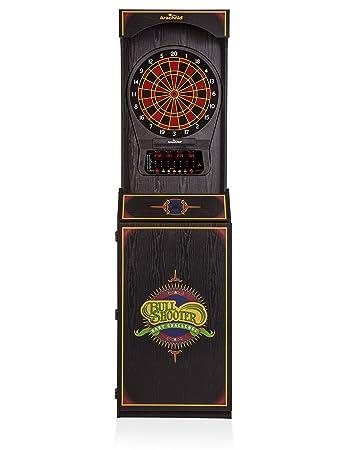 Amazon.com: Arachnid Arcade Style Cabinet Dart Game: Sports & Outdoors
