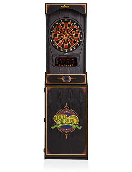 Arachnid Cricket Pro 650 Standing Electronic Dartboard With 24 Games, 132  Variations, And 6