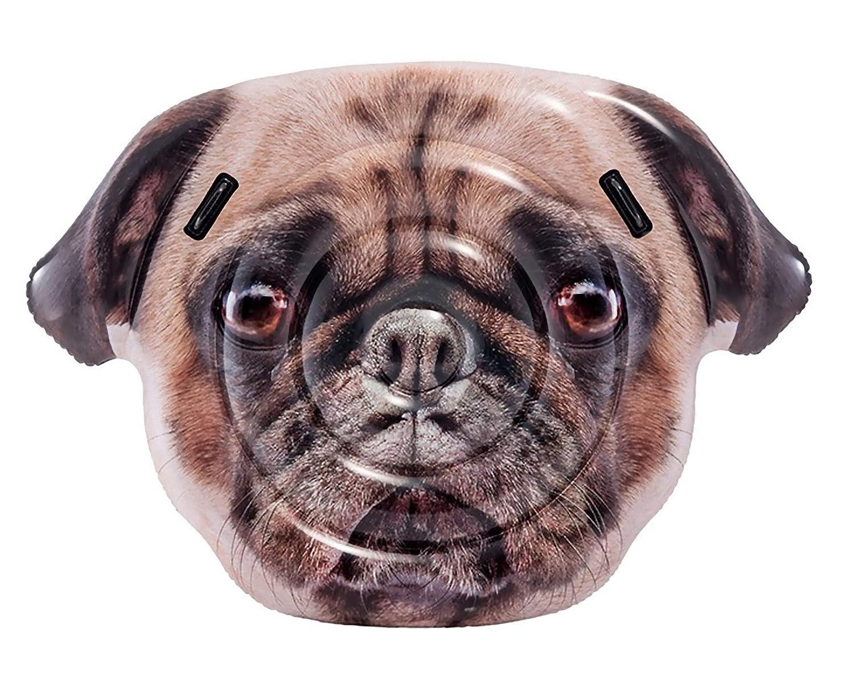 Intex 58785EU - Figura realista Perrito Pug con asas