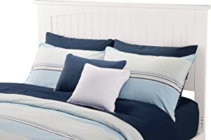 Atlantic Furniture Nantucket Headboard Full White