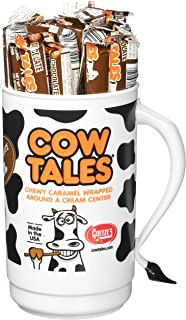 product image for Goetze's Cow Tales Candy Tumbler, Chocolate, 100 Count