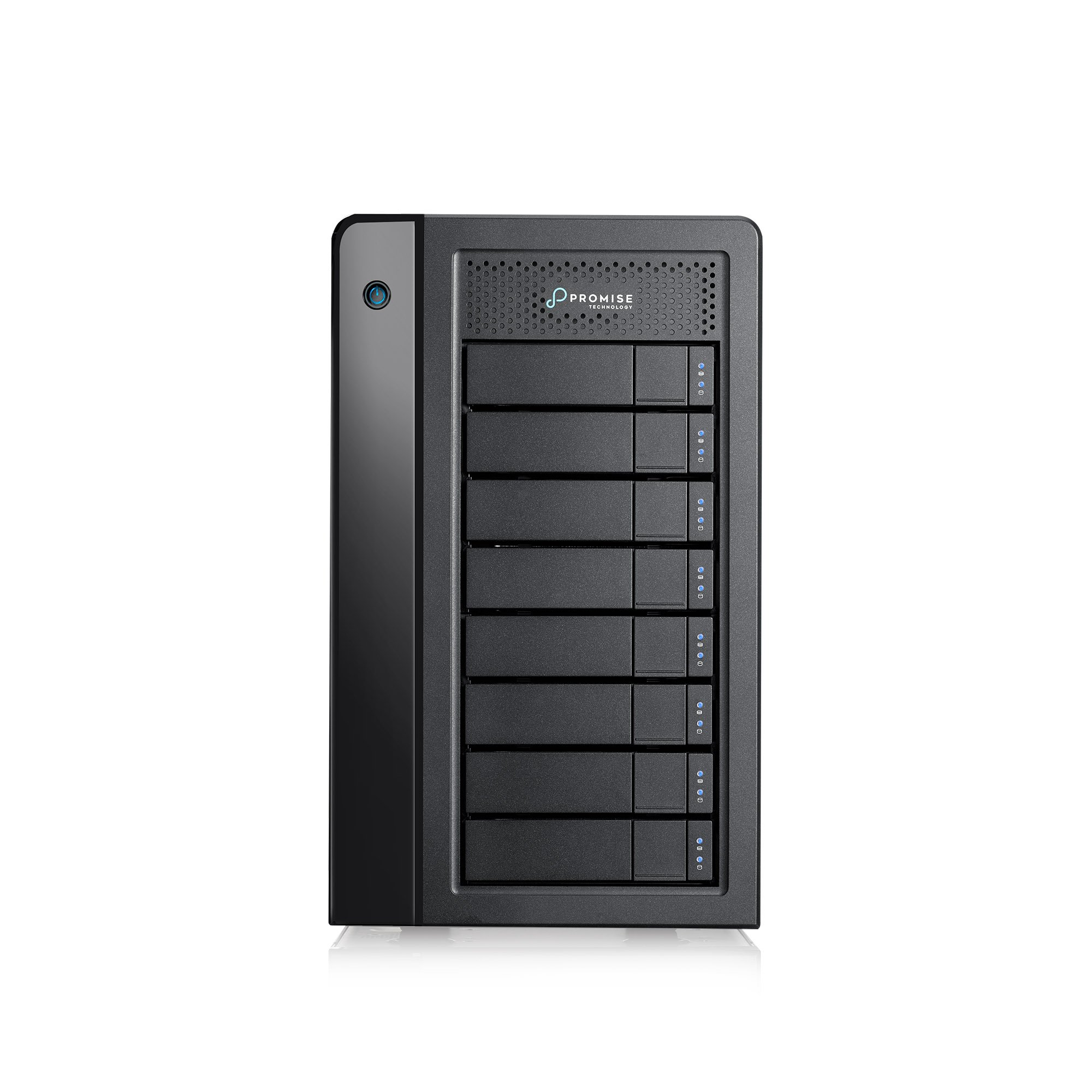 Promise P3R8HD64US Pegasus 64TB Thunderbolt 3 RAID Storage, External Hard Drive by Promise Technology