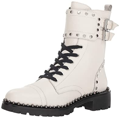 White BootBright Women's Sam Combat Edelman Jennifer Y6fyb7g