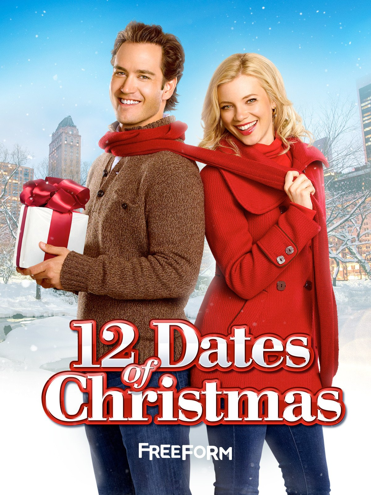 Billedresultat for 12 dates of christmas movie