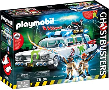 Playmobil ghostbusters 9220 - ghostbusters ecto-1, dai 4 anni