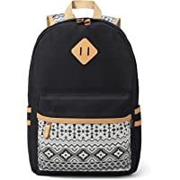 Plambag Women's Backpack Cute Bookbag, Laptop School Backpack
